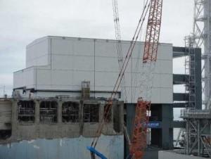 Fukushima Daiichi 4 cover completion